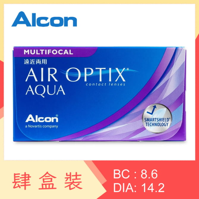 Air Optix Aqua Multifocal (4 Boxes)