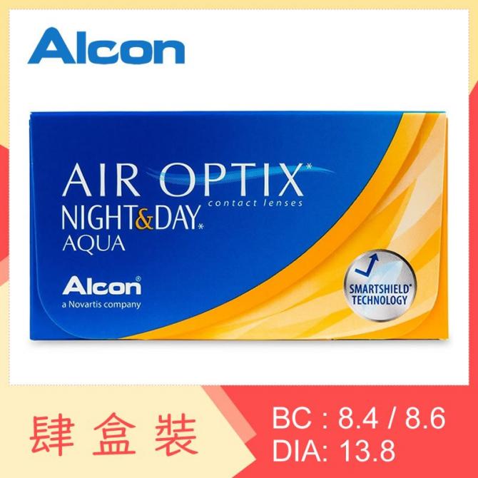 Air Optix Night & Day Aqua (4 Boxes)