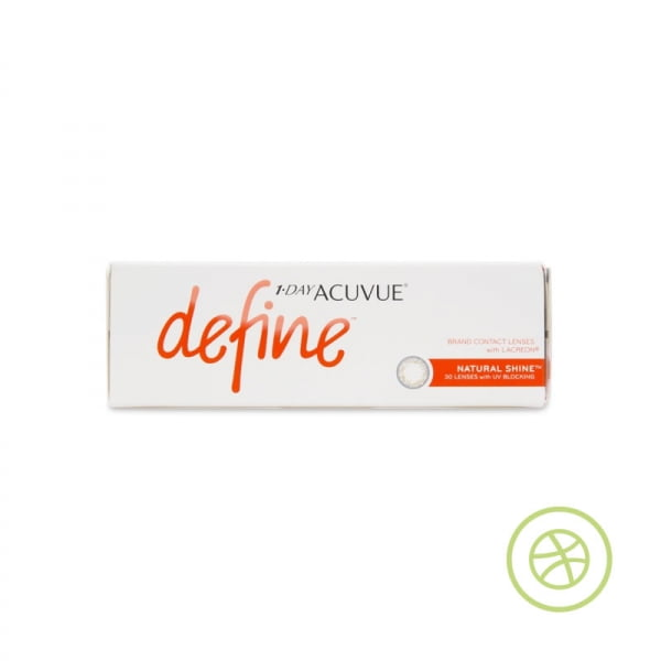 1-DAY ACUVUE DEFINE Natural Shine 每日拋棄型隱形眼鏡 (閃亮金)