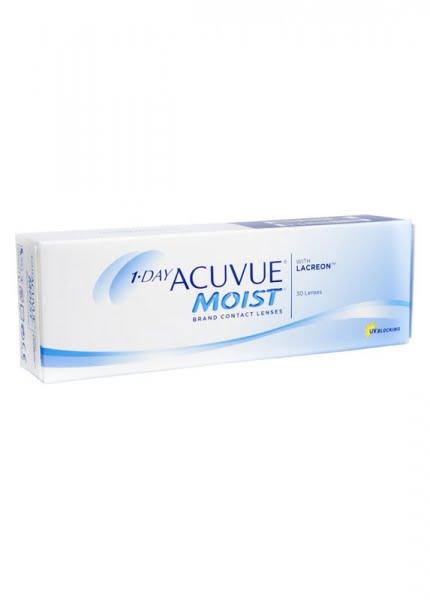 1 • DAY ACUVUE® MOIST™ 每日拋棄型隱形眼鏡四盒