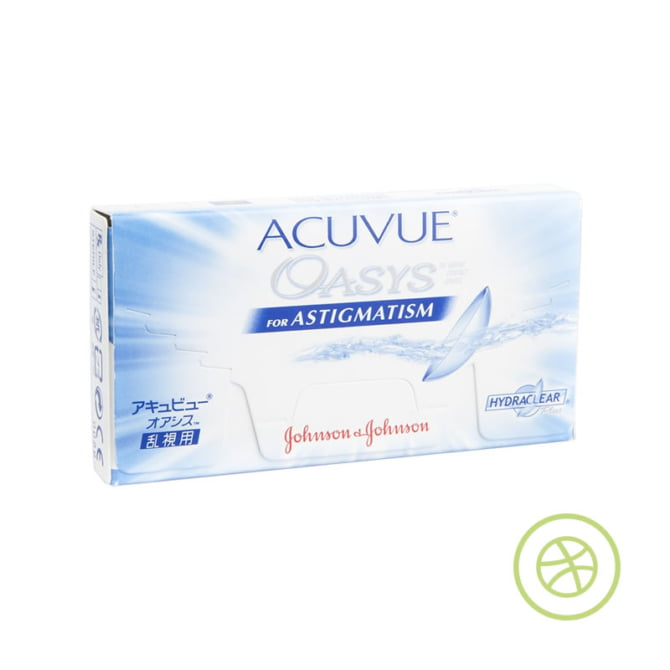 ACUVUE OASYS with HYDRACLEAR PLUS for Astigmatism 兩星期拋棄型散光隱形眼鏡