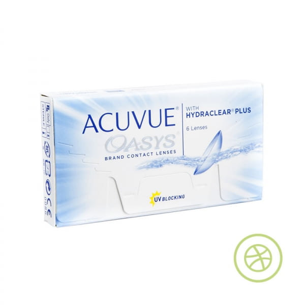 ACUVUE OASYS with HYDRACLEAR PLUS 兩星期拋棄型隱形眼鏡