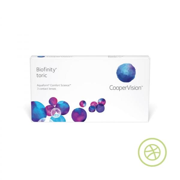 Biofinity toric 每月即棄矽水凝膠散光隱形眼鏡