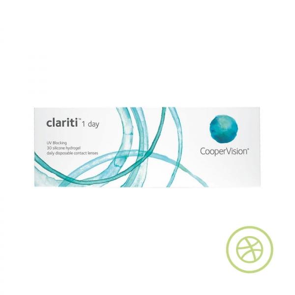 Clariti 1 day 每日即棄矽水凝膠隱形眼鏡