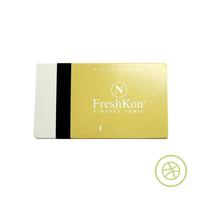 FreshKon N-HANCE TORIC 每月即棄散光隱形眼鏡