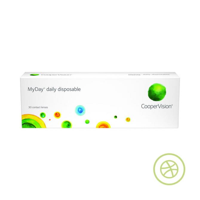 MyDay 每日即棄矽水凝膠隱形眼鏡