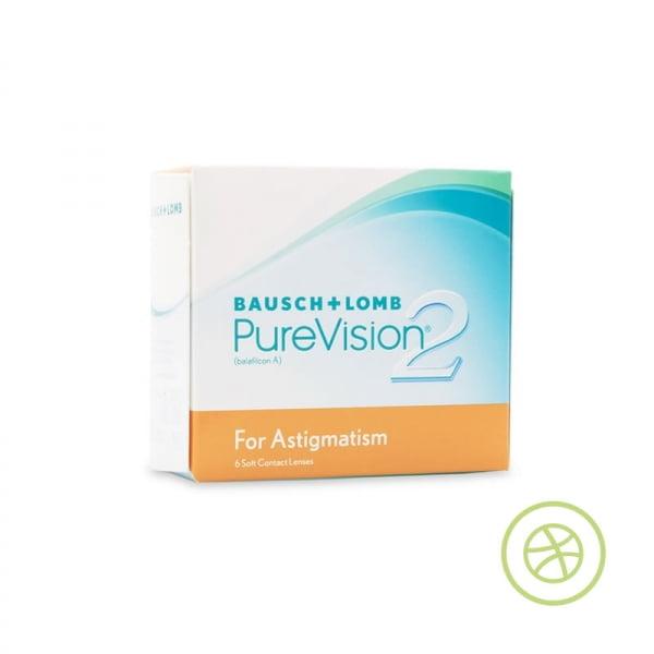 博士倫 PureVision 2 HD for Astigmatism 每月即棄散光高透氧CON