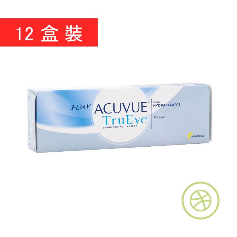 1 day acuvue trueye 12 boxes. Black Bedroom Furniture Sets. Home Design Ideas