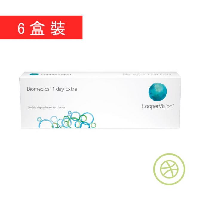 Biomedics 1 day Extra (6 Boxes)