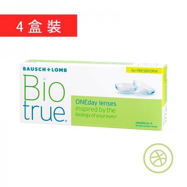 Biotrue 1-Day Presbyopia (4 Boxes)