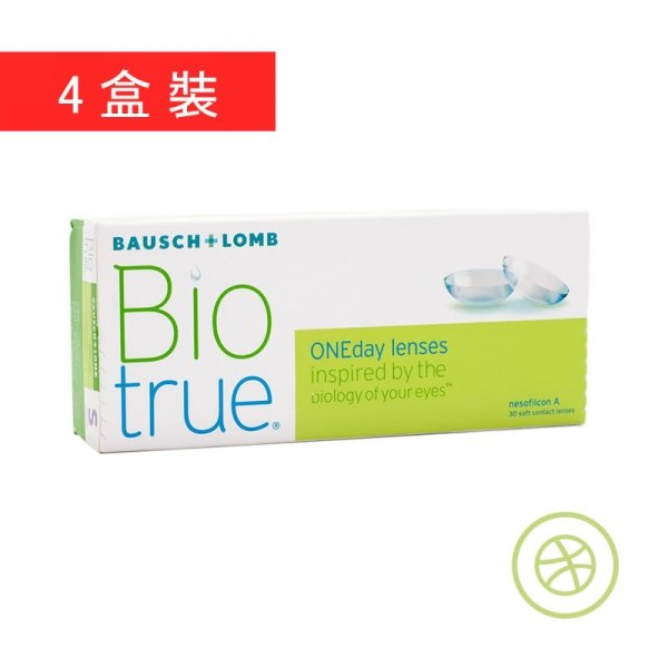 Biotrue 1-Day (4 Boxes)