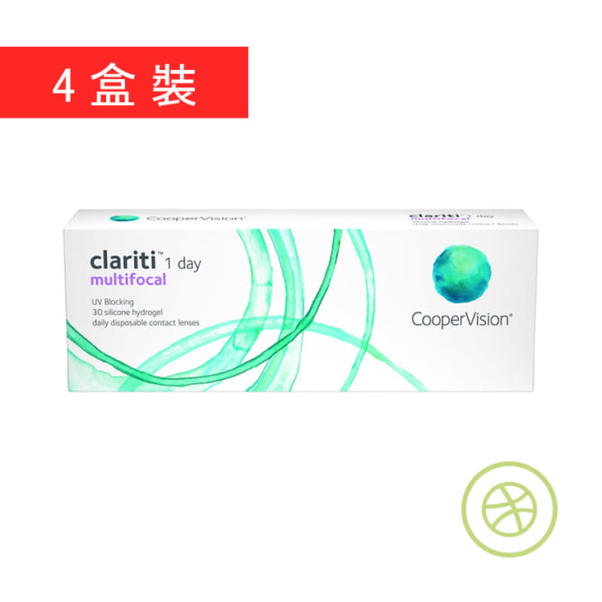 Clariti 1 day multifocal (4 Boxes)