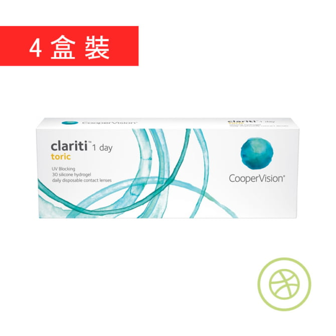Clariti 1 day toric (4 Boxes)