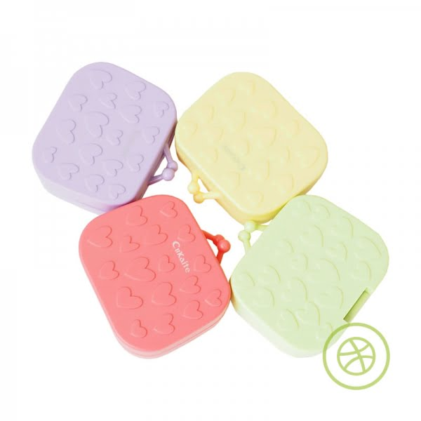 Colorful Brief Case Contact Lens Case