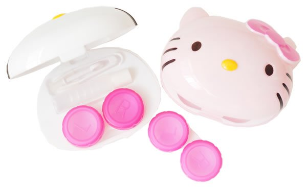 Hello Kitty Contact Lens Case