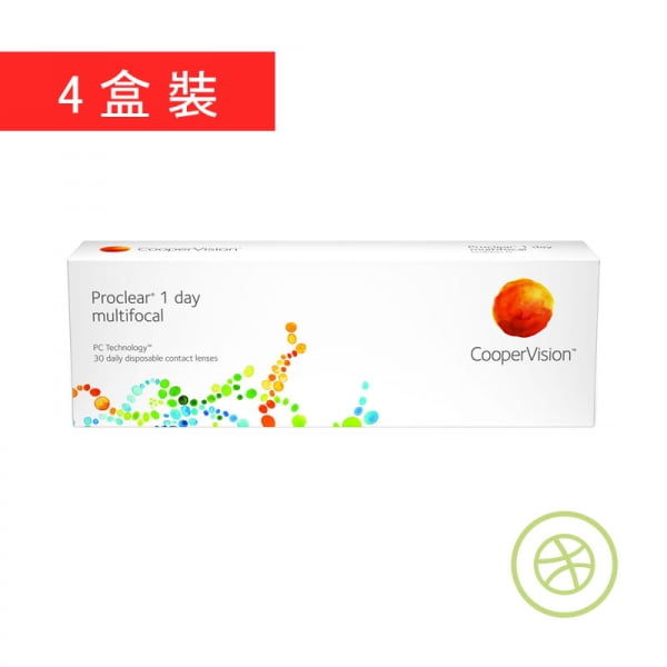 Proclear 1 day multifocal (4 Boxes)
