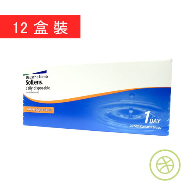 SofLens Daily Disposable Toric for Astigmatism 1-Day (12 Boxes)