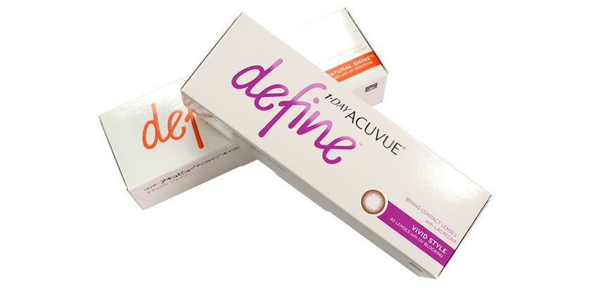 One-Day ACUVUE Define特價限售HK$205