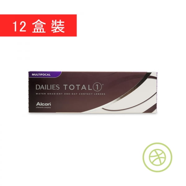 Dailies Total 1 Multifocal (12 Boxes)