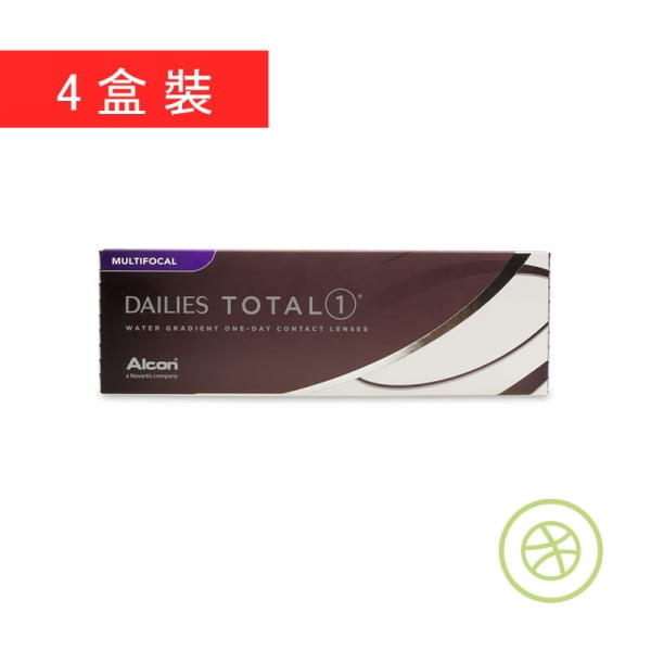 Dailies Total 1 Multifocal (4 Boxes)