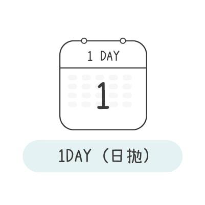 1DAY日拋